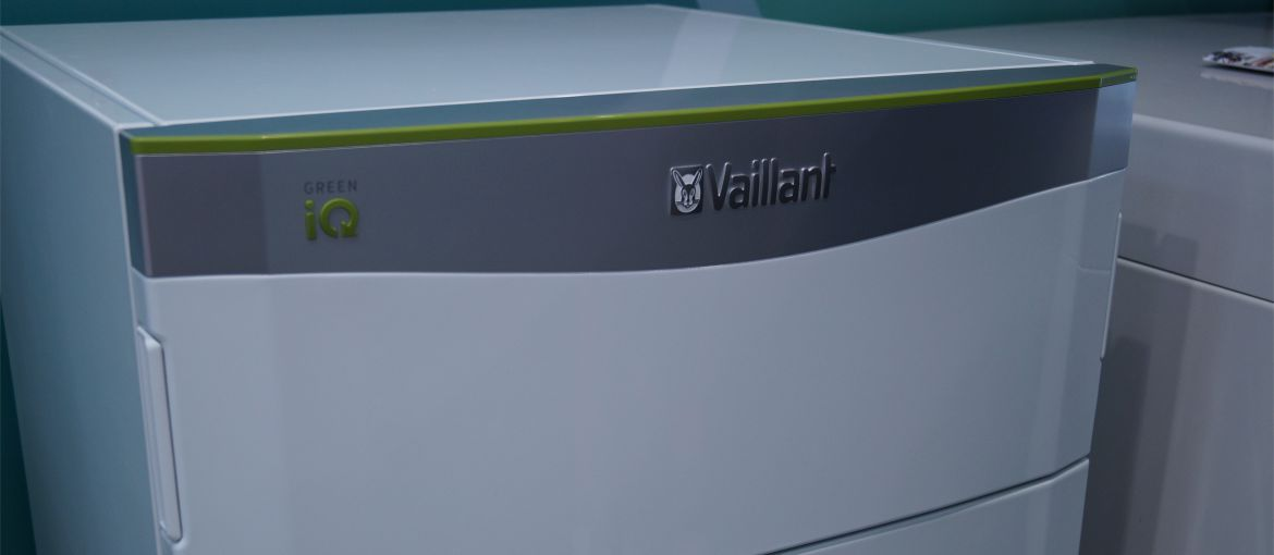 Тепловой насос воздух-вода Vaillant flexoTHERM