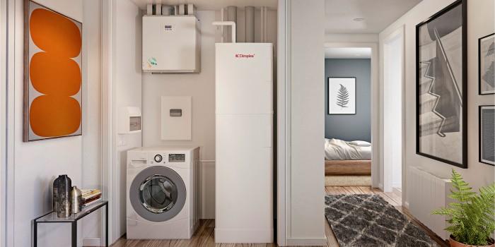 Отопление квартир, поквартирные системы отопления