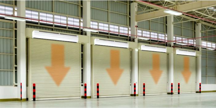 Применение воздушных и воздушно-тепловых завес в зданиях