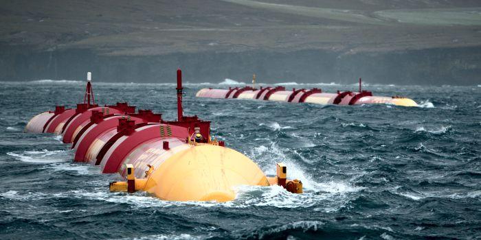 Получение энергии из морских волн только в перспективе