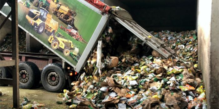 Утилизация пищевых отходов с попутной выработкой биогаза