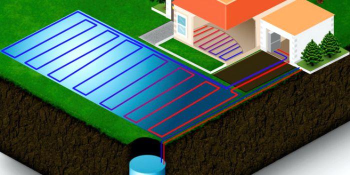 Низкопотенциальная энергия для использования в отоплении