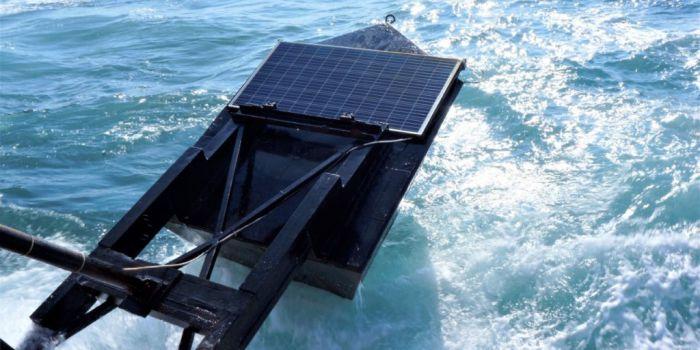 Комбинированная волновая и солнечная система в Израиле