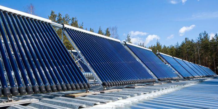 Солнечный коллектор для аккумулирования тепловой энергии