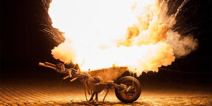 Чистые металлические порошки можно сжигать как топливо
