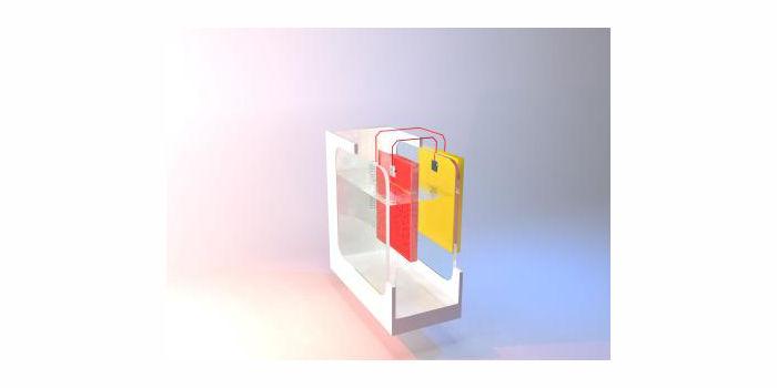 Фото: Тандем PEC-PV на основе фотокатода Cu₂O, обеспечивающий 4,55% солнечно-водородной эффективности. P. Linfeng/EPFL