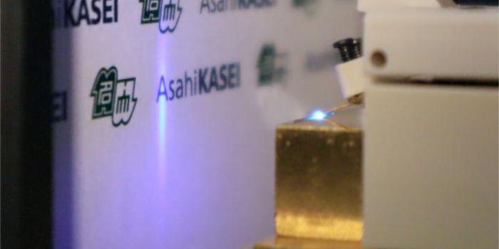Лазерный диод излучает глубокий ультрафиолетовый свет