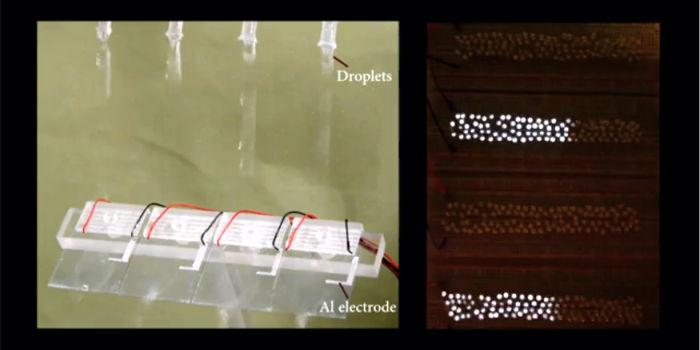 Создан эффективный электрогенератор на основе капель