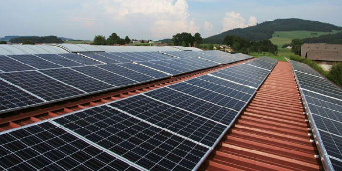 Солнечные панели для выработки электричества