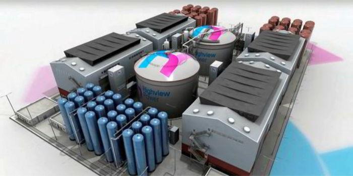 Хранение жидкого воздуха для возобновляемой энергии