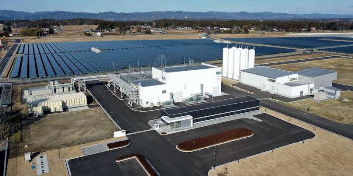 Крупнейший завод по производству водорода за счет ВИЭ