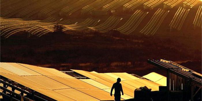 Крупнейший в Европе солнечный парк введен в эксплуатацию