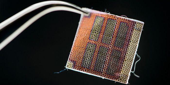 Гибридный текстиль с трибоэлектрическими материалами