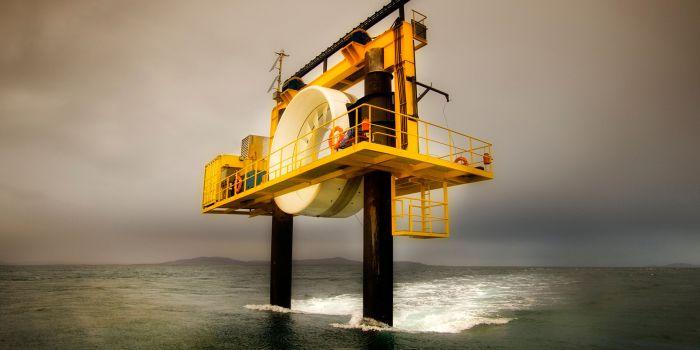 Использование возобновляемой океанической приливной энергии