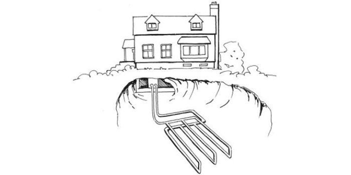 Отопление частного дома разными видами тепловых насосов