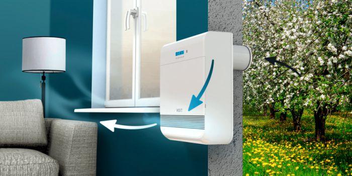 Методы улучшения качества воздуха внутри дома