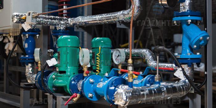 Тепловые пункты для систем отопления зданий