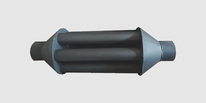 Теплообменник на дымовую трубу с изолированными дымовыми каналами