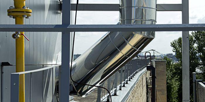 Использование крышных котельных для отопления зданий