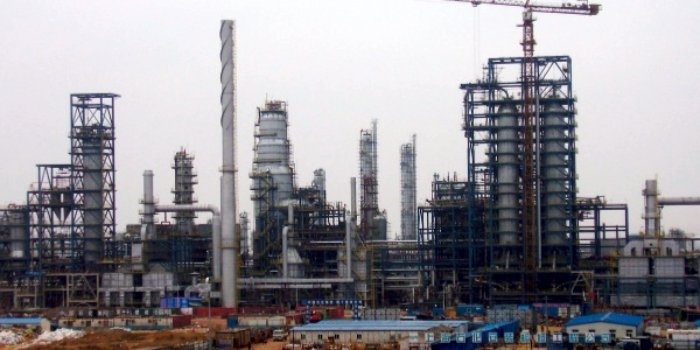 Завод по сжижению угля Erdos CTL, Внутренняя Монголия, Китай. Предоставлено: NrgEdge