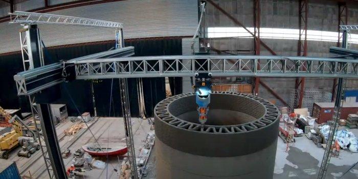 GE планирует печатать 200-метровые башни для ветровых турбин