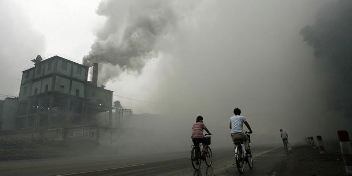 Загрязнение окружающей среды взвешенными твердыми частицами