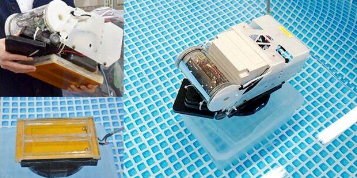Беспроводная передача электроэнергии в океане по воде как по кабелю