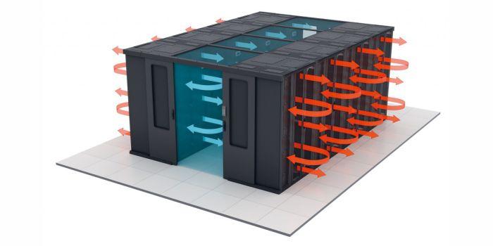 Гибридная система охлаждения для центров обработки данных