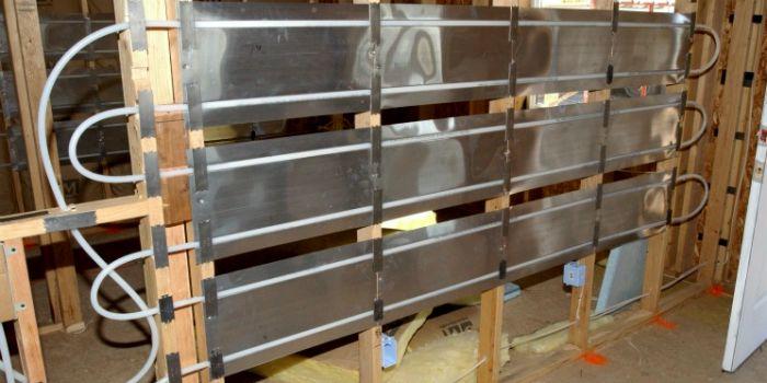 Классификация и применение систем лучисто-панельного отопления