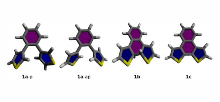 Конформации молекул, участвующих в расчетах. ACS
