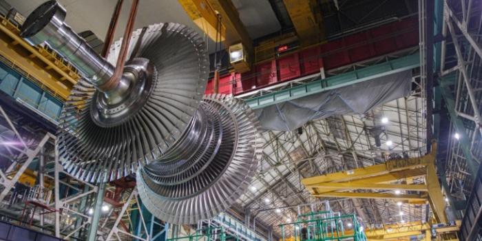 Самая большая лопатка паровой турбины для английской АЭС