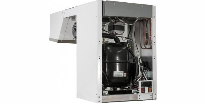 Моноблок POLAIR Standard ранцевого типа охлаждает, замораживает и поддерживает необходимый температурный режим во внутреннем объеме холодильных камер