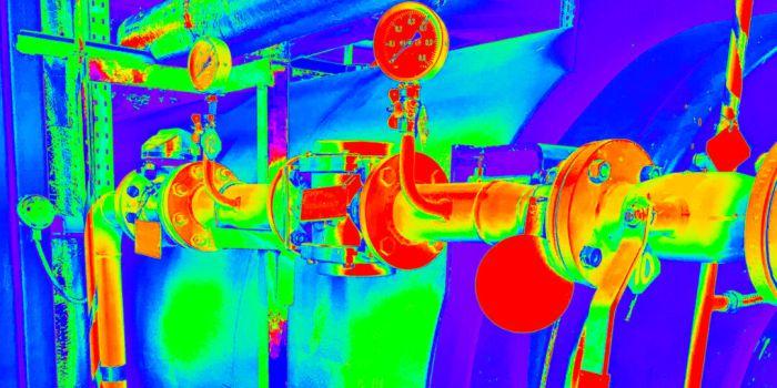 Термографическое изображение запорной арматуры трубопровода | THE RAM REVIEW