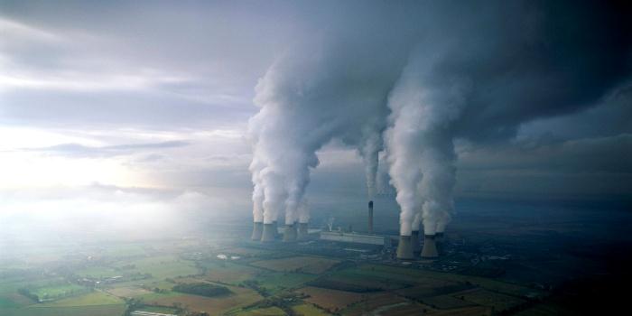 Угольная электростанция DRAX в Йоркшире на севере Англии. Reddit