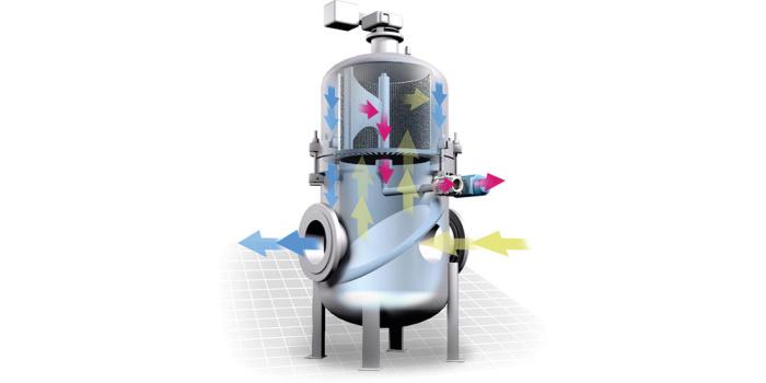 Сетчатый фильтр предназначен, чтобы непрерывно удалять твердые частицы из жидкостей в трубопроводах. Process Heating