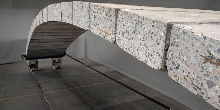 Пешеходный мост. Предоставлено: Федеральная политехническая школа Лозанны (EPFL)